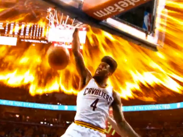 """Cleveland Cavaliers """"All In 2015"""""""